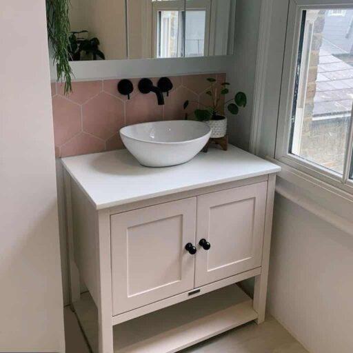 Single Sit On Basin Vanities